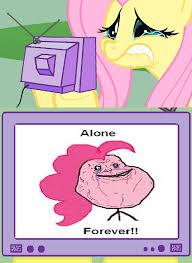 Meme My Little Pony - image pinkie pie forever alone meme png my little pony fan