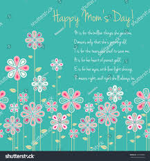 happy mothers day card design vector stock vector 131095988