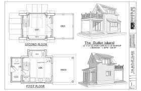 floor plans and elevations of houses the butler island tiny house plan full two story 336 square feet