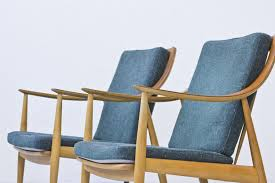 Modern Easy Chairs Design Ideas Mid Century Vintage Chairs Modern Dining Pair Of Solid