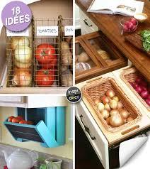 ranger cuisine rangement fruits et légumes dans une cuisine 18 idées
