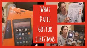 12 year old katie u0027s christmas gift haul myfamilyof8 youtube
