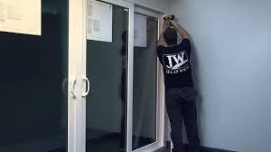 Jeld Wen Sliding Patio Door How To Secure A Fixed Panel In A Premium Atlantic Vinyl Sliding