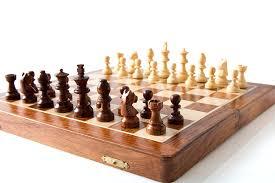 amazon com starzebra 12 inch wooden magnetic travel chess set