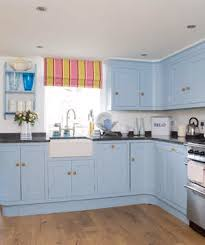 Amazing Kitchen Decorating Ideas Real Simple - Blue kitchen cabinets