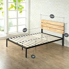 Metal Bed Frame No Boxspring Needed Bed Frame No Boxspring Needed Modern Studio Inch Platform Metal