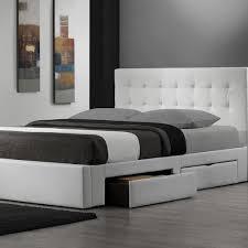 King Size Bed Frame Storage Modern Bedroom With King Size Platform Bed Frame Storage And