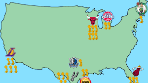 San Diego Breweries Map by 20 Maps That Explain The Nba Sbnation Com