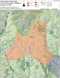 Oregon Fires Map Blue Mountain Fire Information August 2017