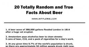 20 totally random and true facts about list interesting
