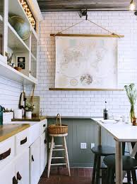 Interior Design For Kitchen Images Dress Your Kitchen In Style With Some White Subway Tiles