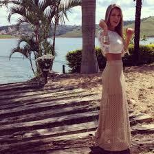 dress summer skirt maxi crop tops lace crochet blouse