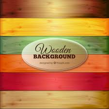 colorful wooden background vector free