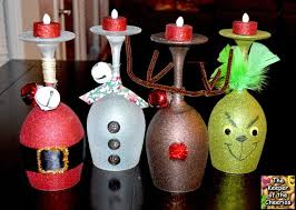 12 diy wine glass christmas decorations the bright ideas blog
