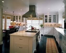 kitchen island stove broadmoor colonial remodel traditional kitchen seattle by
