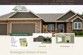 real estate website des moines web site brown green earth