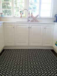 neoteric design black kitchen rug simple gallery also gray mat