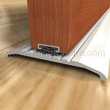 Door Bottom Sweeps For Exterior Doors High Quality Door Bottom Sweeps Smoke Neoprene Insert Sold