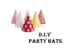 party hats easy tutorial diy party hats diy craft for children party