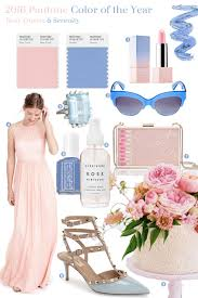 fabulous finds 2016 pantone color of the year exquisite weddings