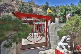 the most unique of homes for sale in sunland ca the red zen