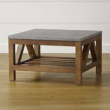 Solid Oak Coffee Table Solid Wood Coffee Tables Crate And Barrel