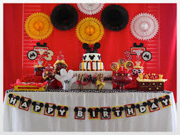 mickey mouse party decorations mickey mouse birthday decor ideas image inspiration of cake and