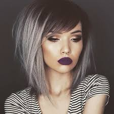 gray hair color trend 2015 balayage ombre grey hair gray ombre hair color trend for dark hair