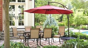 Offset Patio Umbrella Cover Home Depot Outdoor Umbrella Size Of Window Offset Patio