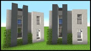 Compact Houses Simple U0026 Compact Modern House Minecraft Tutorial Youtube