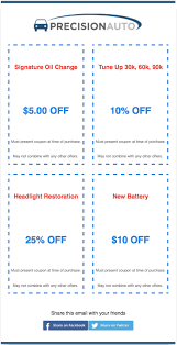 6 most popular email templates for small businesses verticalresponse