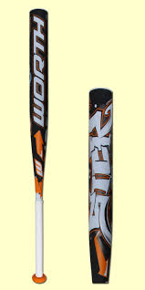 worth fastpitch bats worth sick 454 10 2 1 4 fastpitch softball bat fpsick discontinued