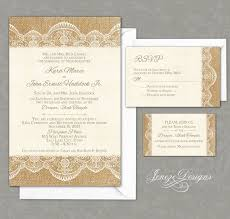 burlap and lace wedding invitations burlap and lace wedding invitations wedding corners