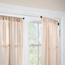 Swing Arm Curtain Rod 1 2 Swing Arm Curtain Rod Pair Improvements