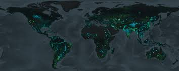 map eath new map shows where earth has gained and lost land