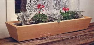 planter box plans u2022 woodarchivist