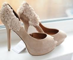 wedding shoes heels bridal style neutral colored high heels are a fit for