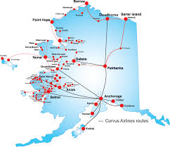 Barrow Alaska Map by Ravn Flight Tracking Login