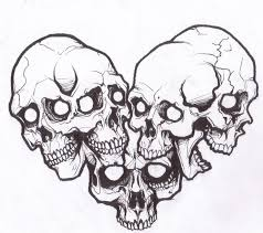 skull tattoo stencils free download clip art free clip art