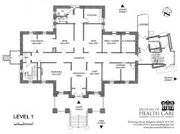 General Hospital Floor Plan Rent The Museum Of Health Care