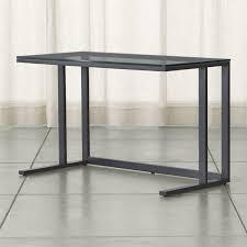Computer Desk Glass Trade Me Stylish Sophisticated U0026 Modern Desks Crate And Barrel