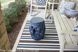 Valspar Satin Spray Paint - my front porch transformed with spray paint