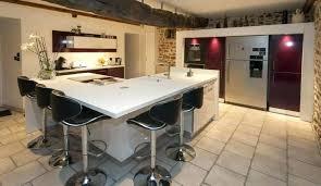 mod鑞e cuisine avec ilot central modale de cuisine ouverte modele de cuisine ouverte sur salon avec