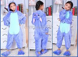 stitch onesies pajamas kigurumi jumpsuit hoodies sleepwear for