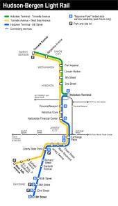 Sacramento Light Rail Map Hudson U2013bergen Light Rail Wikipedia