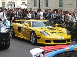 porsche carrera 2007 file yellow porsche carrera gt gumball 3000 2007 jpg wikimedia