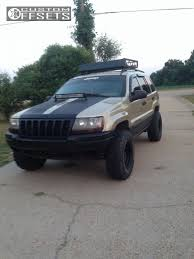 2000 black jeep grand wheel offset 2000 jeep grand aggressive 1 outside fender