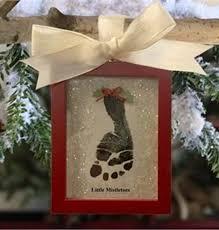 snowprint handprint ornament kit keepsakes s
