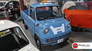 first car ever made with engine honda u0027s first production car the t360 1963 1967 youtube