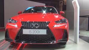 lexus is350 f sport kw lexus is 200t f sport 2017 exterior and interior in 3d youtube